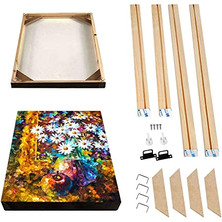 gift idea Art Choice 1 or 2 stretchers. lot of 2 wooden stretchers for painting canvas