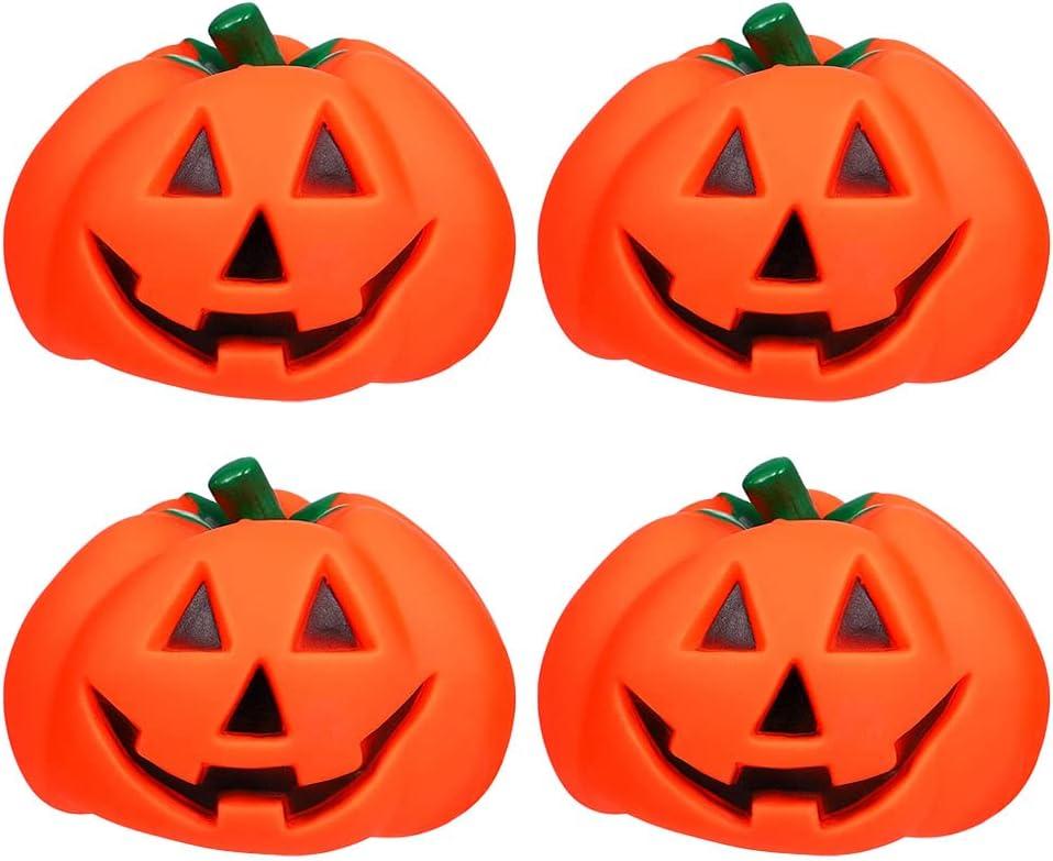 balacoo 4pcs Halloween Pumpkin Cartoon for Pet Toys Squeaker Dog Mesa Mall depot