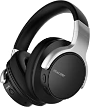 Active Noise Cancelling Wireless Headphones, Mixcder E7 Bluetooth Headphones Over Ear Headsets with Mic, Hi-Fi Deep Bass, Comfortable Protein Earpads, 20H Playtime for Travel Work TV PC Cellphone