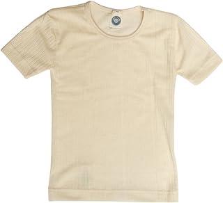 Cosilana, Camiseta interior de manga corta para niños, 45% algodón KBA 35% lana kbT, 20% seda.