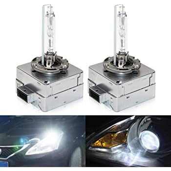 Pack of 2 12V 35W D3S Bombilla Hid Xenon Luces 6000K