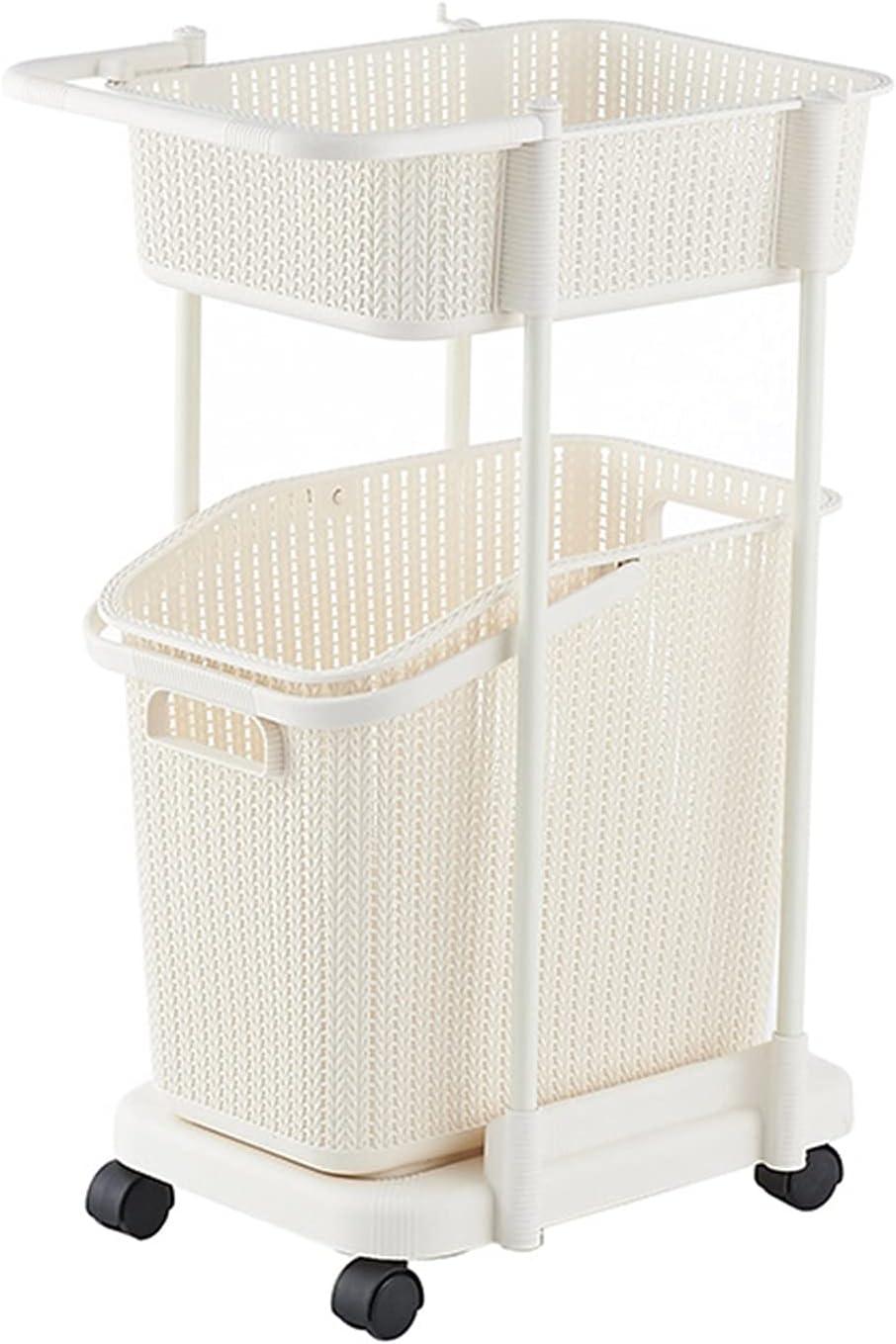 QFFL Laundry Rapid rise Corner 2021 new Multi-Layer Clothes Basket Bathroom Towel S