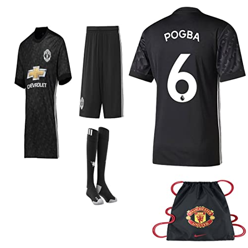 beddf879058 Manchester United NB Paul Pogba Lukuka 2017 2018 17 18 Kid Youth REPLICA  Home, Away
