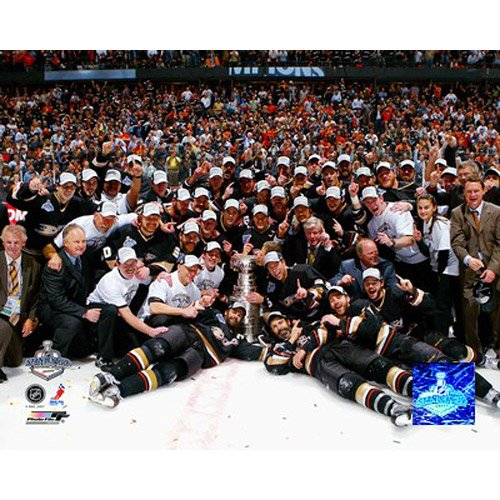 Photo File Anaheim Ducks Stanley Cup Celebration 8x10 Matted Photo