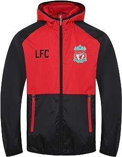 Liverpool Football Club Official Soccer Gift Boys Shower Jacket Windbreaker