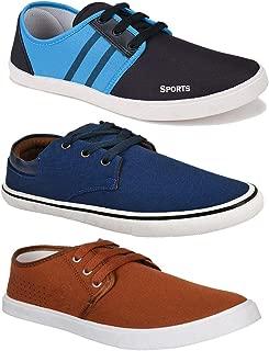 Bersache Combo Pack of 3 Training Shoes, Walking Shoes, Gym Shoes, Sports Shoes, Running Shoes, Sneakers Shoes, Loafers Shoes, Trekking Shoes, Light Weight Comfortable