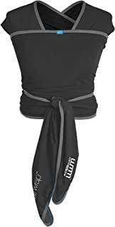 We Made Me Flow, Super Stretchy, Cool & Comfortable Baby Carrier, Black