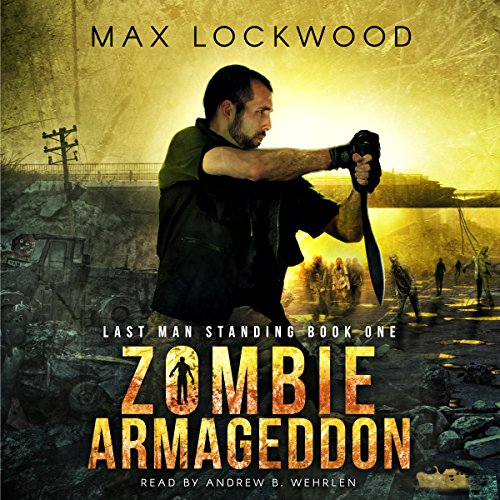 Zombie Armageddon audiobook cover art