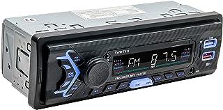 figatia Receptor de MP3 Player USB E áudio Estéreo 12V Bluetooth para Carro com Controle Remoto