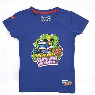 Super Zings - Camiseta Oficial de niño Manga Corta