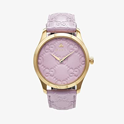 Gucci G-Timeless YA1264098 (Purple/Gold) Watches