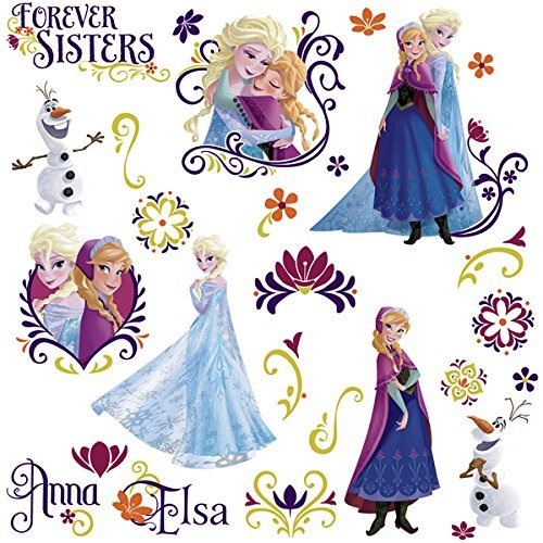 RoomMates Stickers muraux Disney La Reine des Neiges Printemps   Stickers muraux La Reine des Neiges Disney Stickers muraux