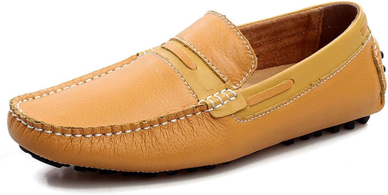 schuheDQ Mnner weiches Leder atmungsaktiv Freizeitschuhe personalisierte Schuhe Mokassins