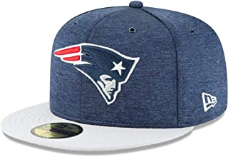 New Era New England Patriots NFL Sideline 18 Home On Field Cap 59fifty Fitted OTC
