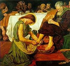 ford madox brown jesus washing peter's feet