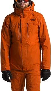 The North Face Men's Clement Triclimate Jacket Papaya Orange