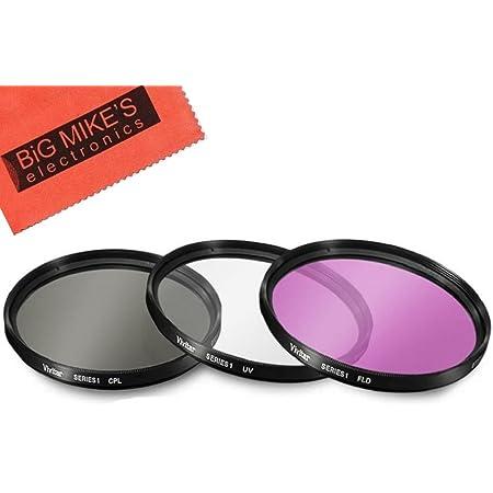 Multicoated 72mm Circular Polarizer Multithreaded Glass Filter for Sony Alpha Alpha NEX-5 Digital Nc C-PL