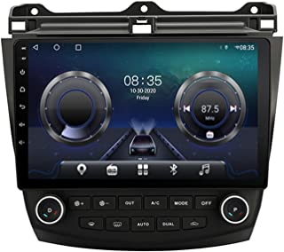 Auto GPS Navigatie Centrale Controle Groot Scherm, 6 + 128G Auto Multimedia Speler voor Honda Accord 7 2003-2007, 8 cores ...