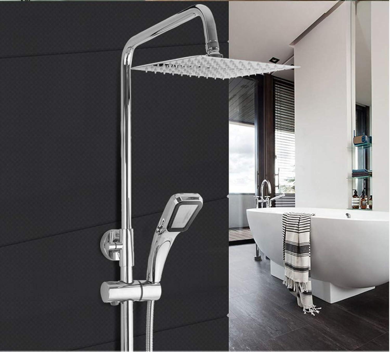 GWFVA Duschmischerset für Badezimmer, Duschset, Einfach, Badezimmer, Schlank, Dusche, Oberflchenmontage, Dusche, Kupfer, Duschset