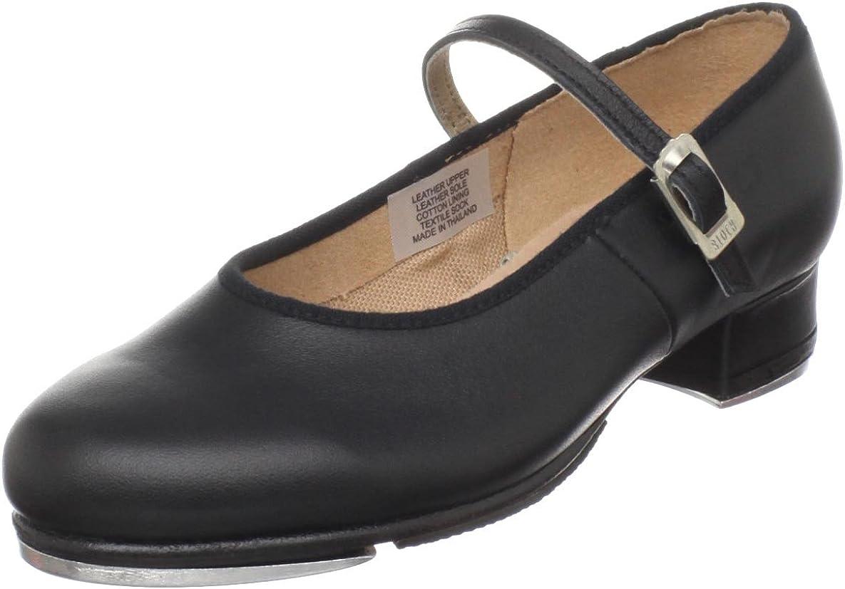 Bloch Dance Girls Tap On Leather Tap Shoe
