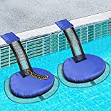 PINWATT 2 Pack Animal Saving Escape Ramp, Critter Escape Device for Frogs, Toads, Lizards, Ducks, Snakes, Squirrel, Chipmunk, Swimming Pool Accessories(Blue)