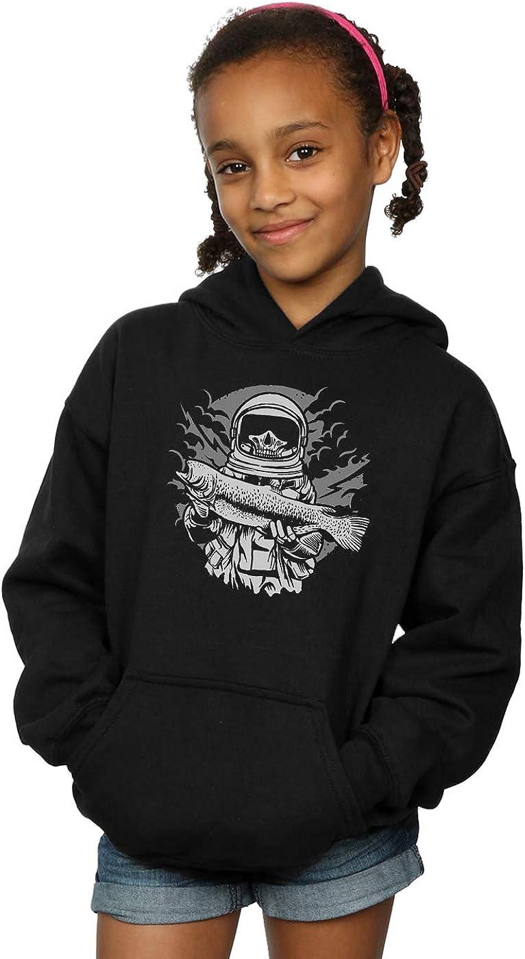 ABSOLUTECULT Drewbacca Girls Astronaut Fisherman Hoodie