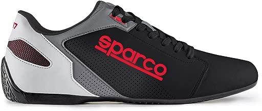 SPARCO (スパルコ)ドライビングシューズ SL-17 サイズ/43 カラー/BLACK/RED 00126343NRRS