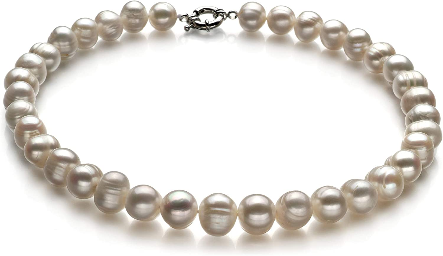 Single White 10-11mm Cheap super special price Long-awaited A Quality Freshwater Necklac Cultured Pearl