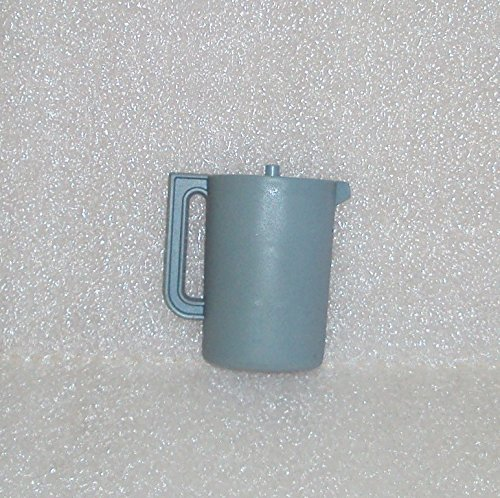 Rare Collectible Tupperware Mini Push Button Pitcher Refrigerator Magnet Country Blue
