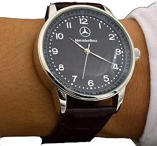 Men Watches Quartz Watch Business Style Mercedes Benz