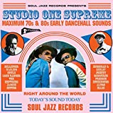 Studio One Supreme - Maximum 70s & 80s Early Dancehall Sounds (3LP + D.Code) [Vinyl LP] - Soul Jazz Records Presents