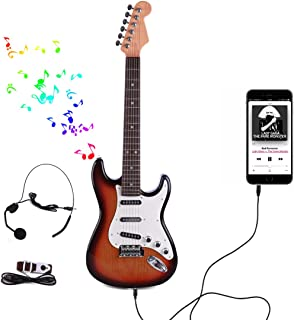 Tosbess Guitarra Electrica Juguete, Juguete de Guitarra Ukel