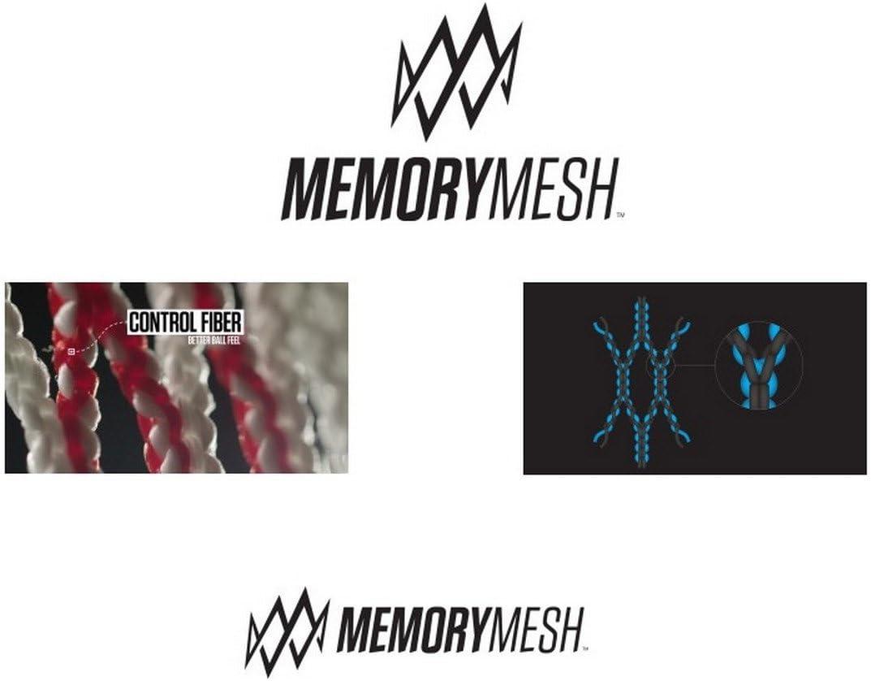 STX Lacrosse 10D Memory Mesh Kit, Attack/Midfield/Defense, White : Sports & Outdoors