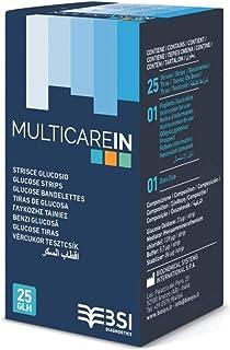 Sistema de Bioquímica Intern Multicare En 25 tiras de glucosa