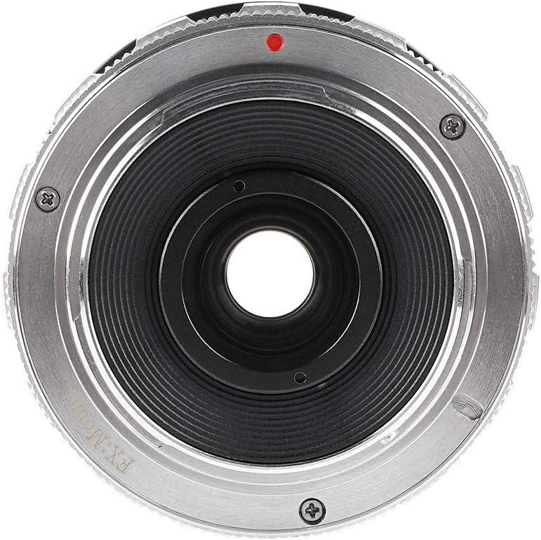 E2 E-E2s X-E3 Plata PERGEAR 7.5mm F2.8 Ojo de pez Lente Ojo de pez ...