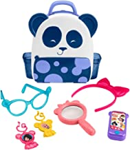 Fisher-Price Cuquin Cleo's Panda Bag Figures, Multi Color