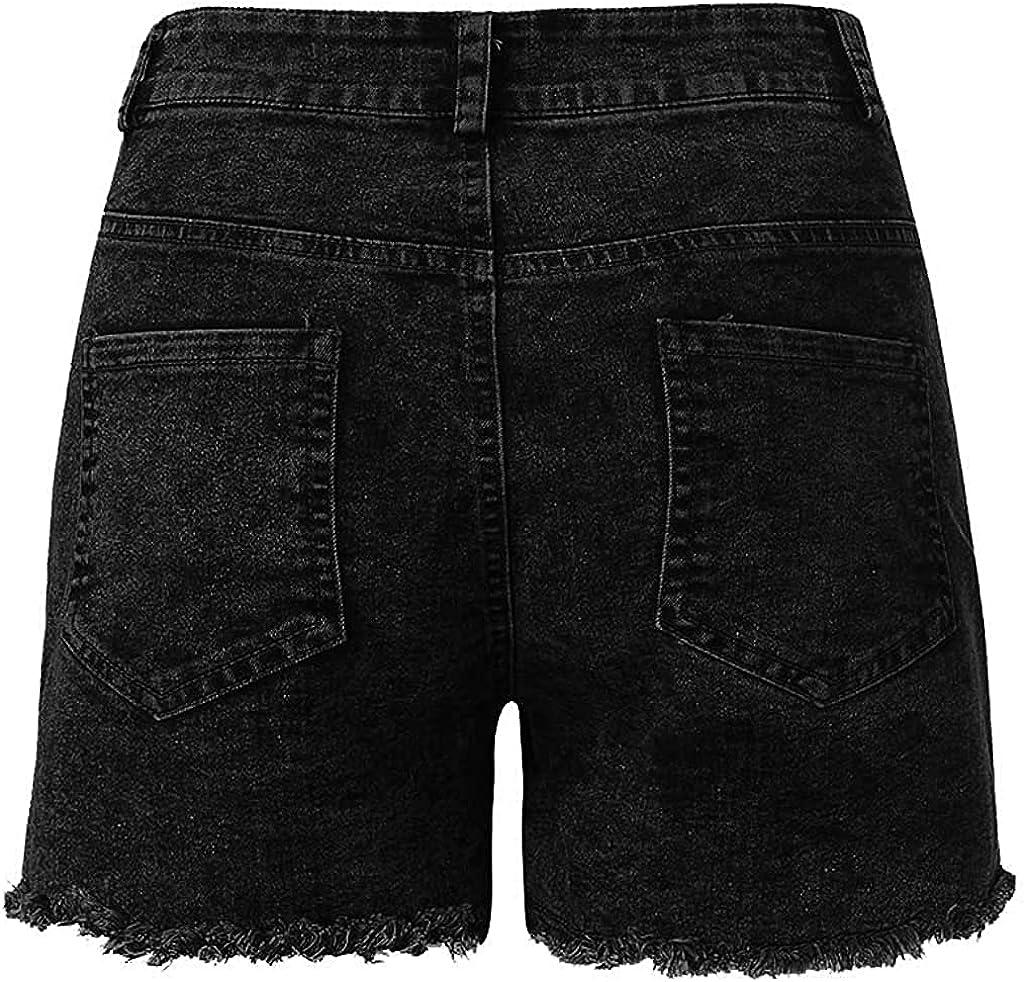 Andrea Spence Short New Jeans Women Denim Female Pockets Wash Summer Denim Shorts