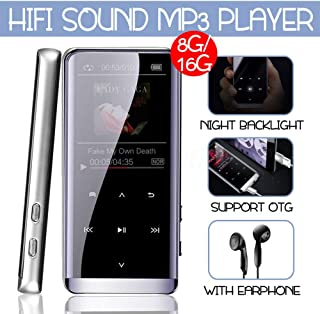 Alician Large Memory English Version JNN M13 Bluetooth Lossless HiFi Music MP3 Player 8GB Electronic Accessories