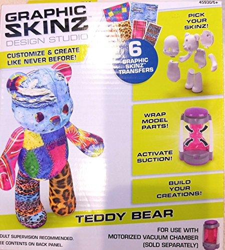 Graphic Skinz Design Studio Teddy Bear by Mega Brands