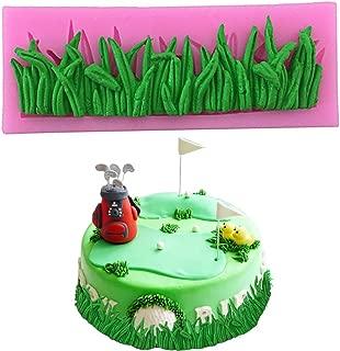 PalkSky Grass Shape Silicone Mold Fondant Mold Chocolate Mold Cake Decoration Tool for birthday cake weeding cake