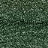 Strickstoff meliert tannengrün einfarbig Uni Strickjersey