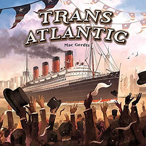 Rio Grande Games RGG551 Transatlantisch, Mehrfarbig