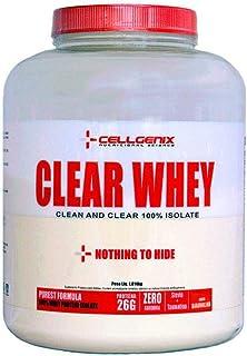 Clear Whey 100% Isolate 1814g Cellgenix Baunilha