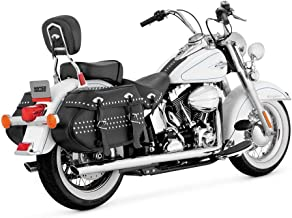 Vance & Hines 16893 Softail Dual Exhaust Chrome (Set) For Harley Davidson 2012-2013 SOFTAIL (16893)