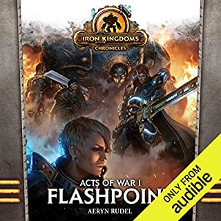 Acts of War, Volume 1: Flashpoint                   By:                                                                                                                                 Aeryn Rudel                               Narrated by:                                                                                                                                 Noah Michael Levine                      Length: 9 hrs and 29 mins     112 ratings     Overall 4.2