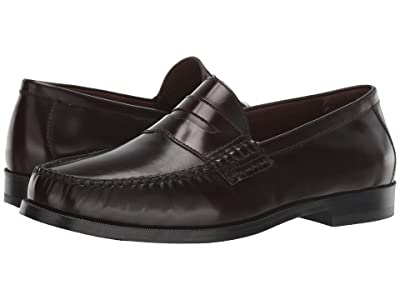 Johnston & Murphy Panell Penny Loafer (Burgundy) Men