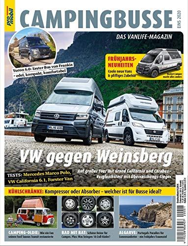 pro mobil Extra Campingbusse: Das Vanlife Magazin - Heft 01/2020