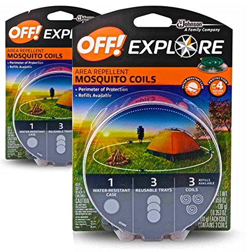 OFF! Mosquito Coils - Explore 2-Pack (6 Coils Total)
