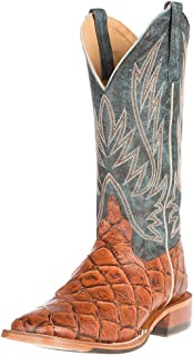 Horse Power Mens Cognac Siletsofish seas The Day top Cowboy Boots