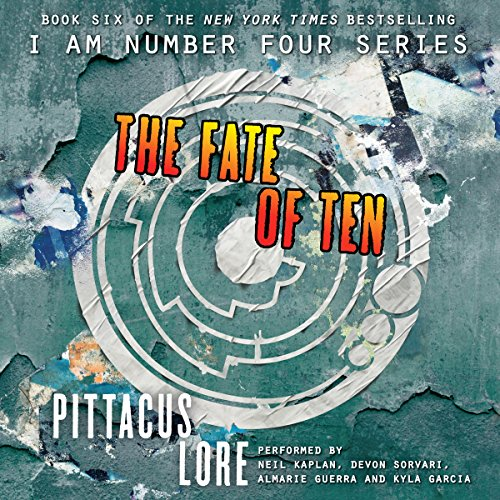 The Fate of Ten audiobook cover art